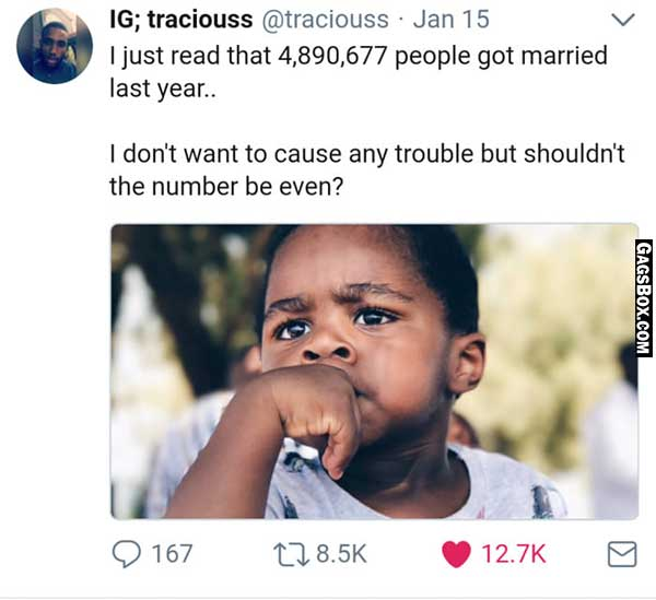 Number Of People Got Married
